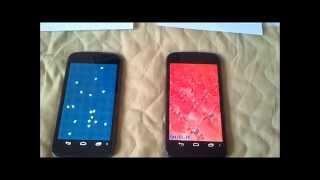 Cyanogenmod 10 vs Stock : Benchmark