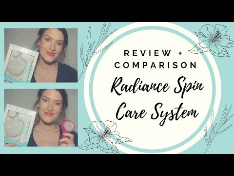 Duvolle Radiance Spincare System Review + comparison /Conair True Glow Sonic Cleansing Brush