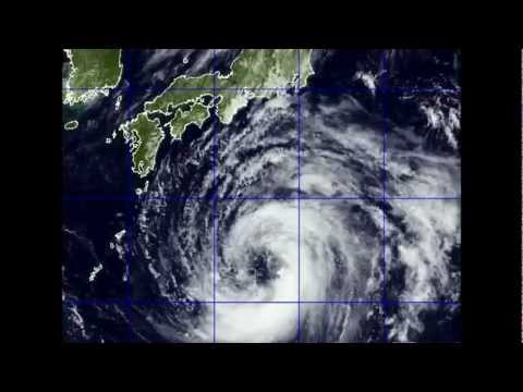 Typhoon Talas Forecasted to make landfall Near Osaka/ Kyoto , 01 SEP 2011 Video Update