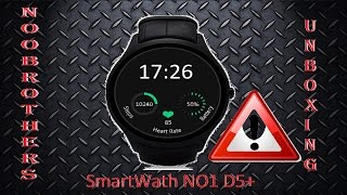 SmartWath NO1 D5+ Unboxing ( GearBest ) Relogio Android 5.1 TOP !!!