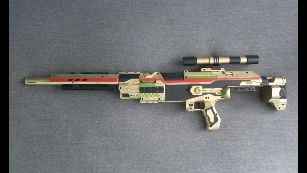 Nerf Sniper Rifle Borderlands Hyperion Stampede Mod