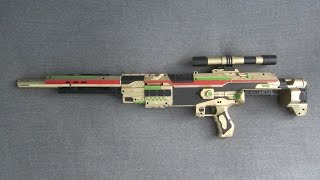 Nerf rival sniper rifle mod