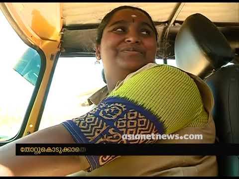 Rajani, Idukki Kattappana's first woman auto-rickshaw driver