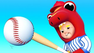 Children Music 🎤 Baseball Song and many more sport songs ! 🎷One Zeez Nursery Rhymes