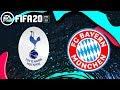 Tottenham Hotspur 6 - 0 Bayern Munchen UEFA Champions League - Score Prediction FIFA20
