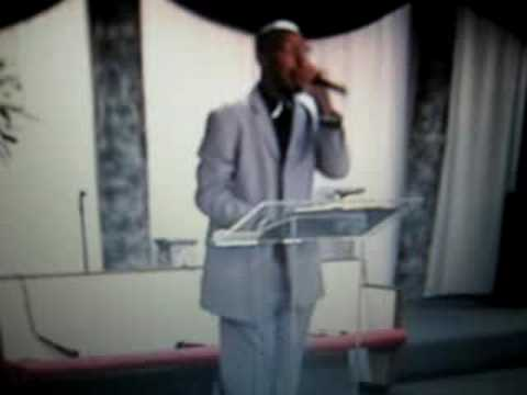 Elder Edgar Usher at New Jerusalem Whole Truth Chu...