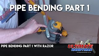 Pipe bending part 1 with Razor