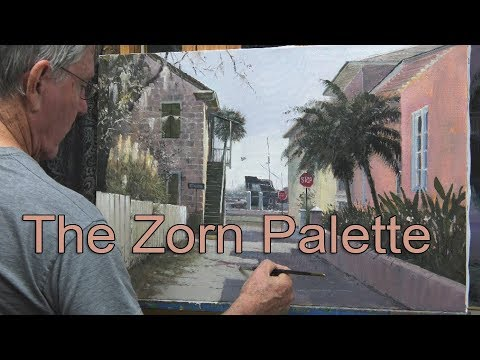 Zorn Palette Painting Demonstration