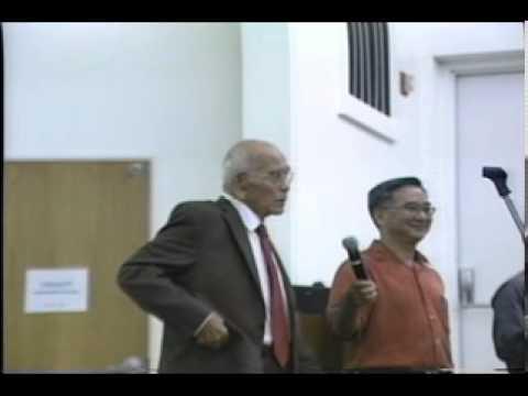 UOG Presidential Lecture Featuring Former Congressman Ben Blaz On Monday, Oct. 21, 2013