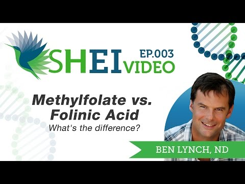 Methylfolate Vs. Folinic Acid - What's The Difference?