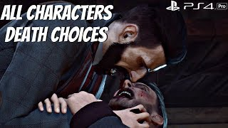 VAMPYR - All Good & Bad Endings (Character Choices) Turn, Spare, Embrace