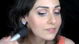 Peach Pin Up Girl Makeup Tutorial using Blush Professional Cosmetics! Thumbnail