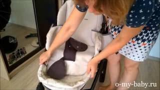 Коляска Tutis Zippy (3 в 1) — часть 1: разбираем для стирки. Видео-обзор от Регины