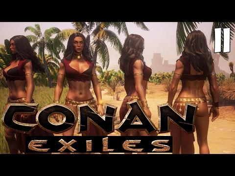 🔥 Conan Exiles [#11] PIERWSZA TANCERKA! TAŃCZ DLA NAS!