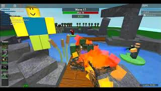 Roblox Tower battles Co-op Pond Triumph Part 1