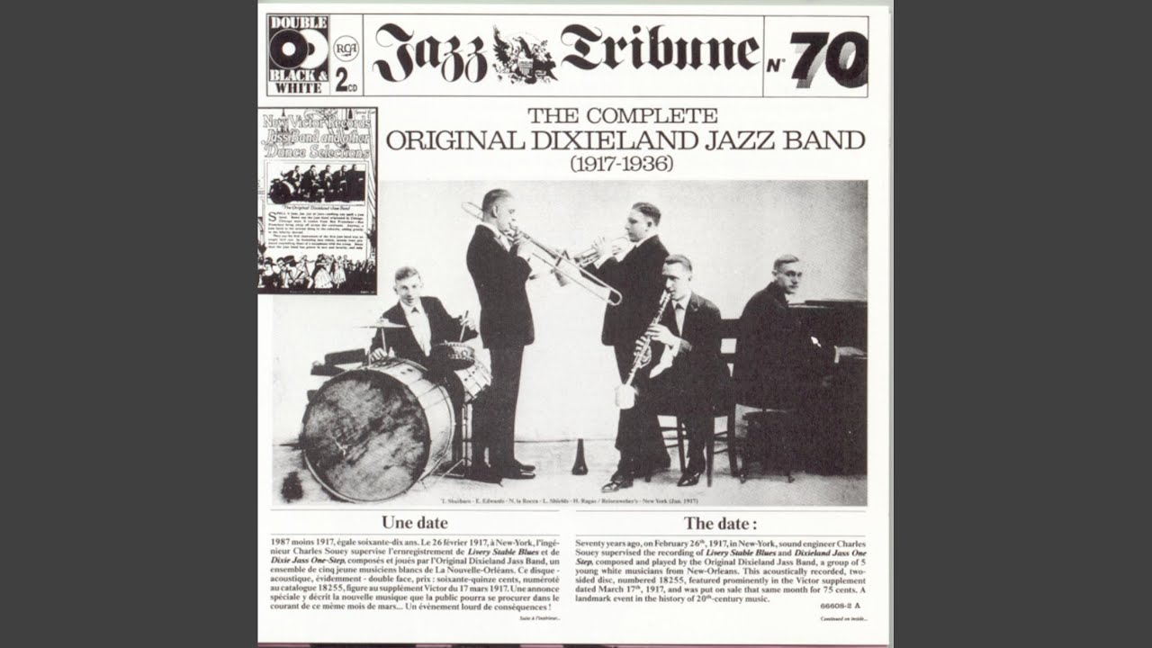 the original dixieland jazz band influence The best of original dixieland jazz band (1917-1936) original dixieland jazz band: nick larocca (cn), eddie edwards (tb), larry shields (cl), henri ragas (p), tony sbarbaro (dm.
