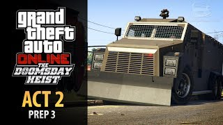 GTA Online: Doomsday Heist Act #2 - Prep: Riot Control Van (Elite & Mastermind II)