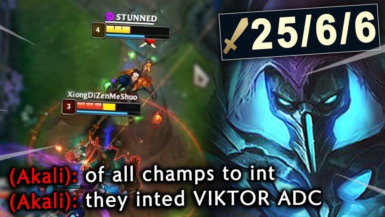 Rank 1 Viktor shows NA Grandmasters why VIKTOR ADC is underrated