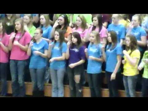 New Prague Middle School Choir Concert March 2012