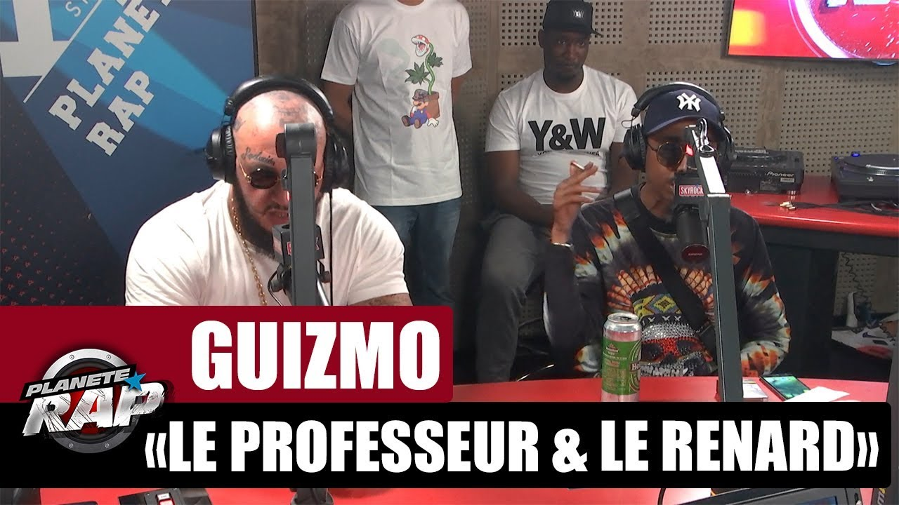 """Guizmo """"Le professeur & le renard"""" Feat. Seth Gueko #PlanèteRap"""