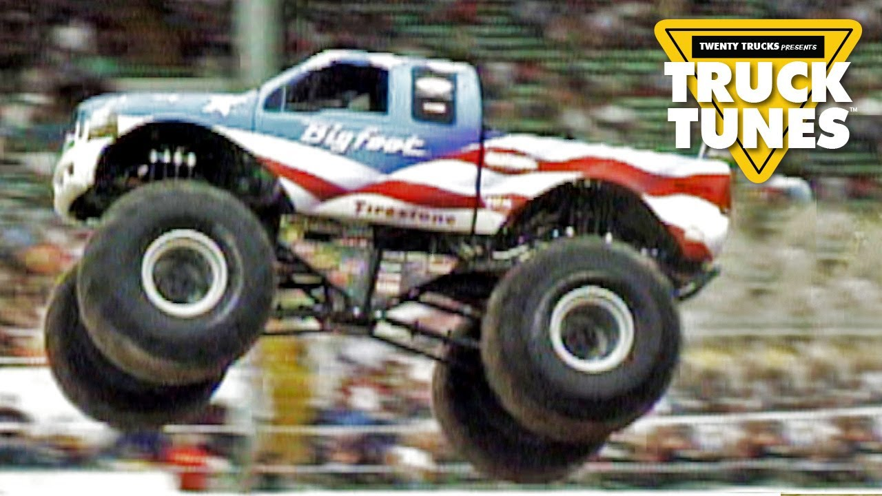 Monster Truck For Children Truck Tunes For Kids Twenty Trucks Channel Youtube