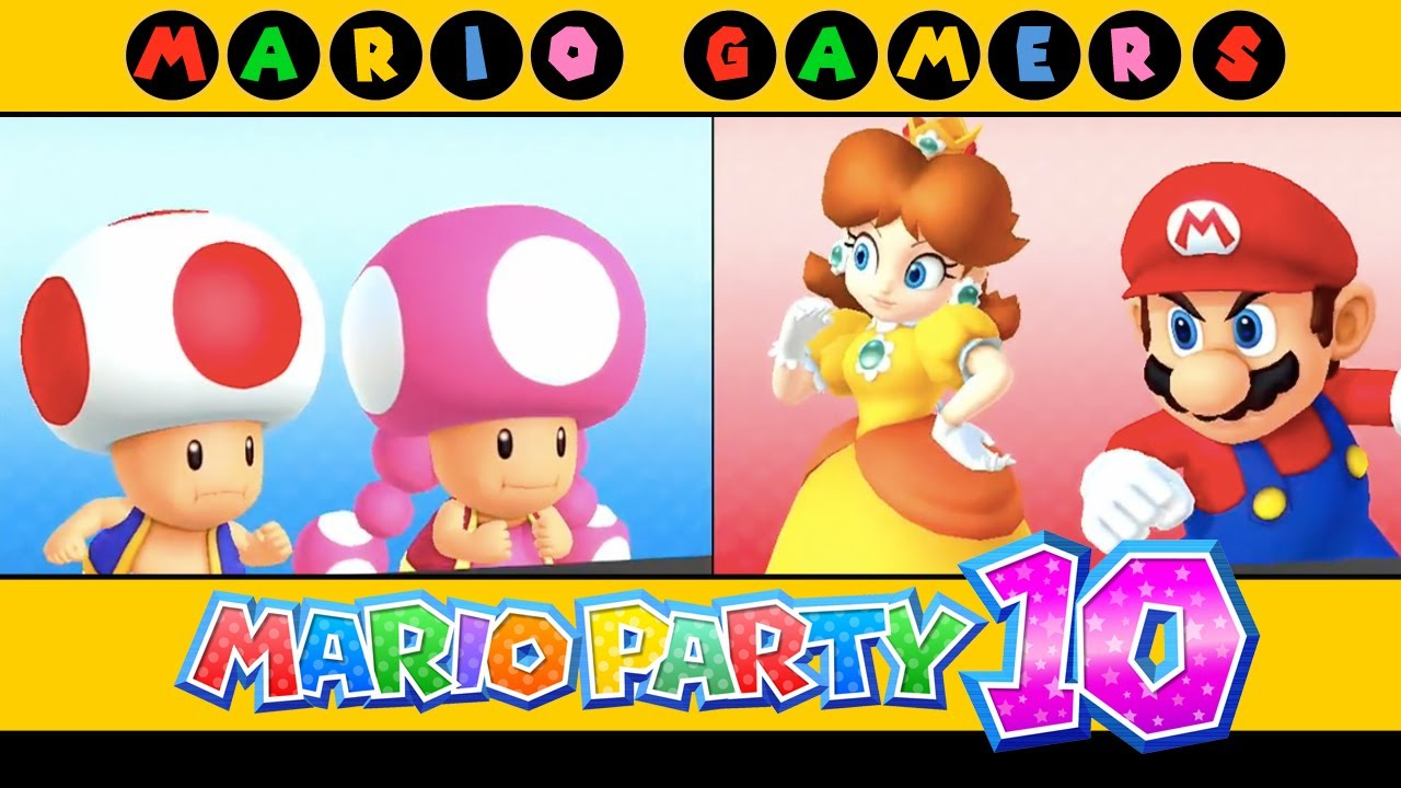 Mario Party 10 - Haunted Trail (Mario, Toad, Toadette and ...