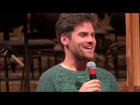 Concert Conversation 21 April 2018, Kevin Kunkel and Christa Wessel
