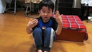 長男5歳1か月(2004年生)と次男1歳2か月(2008年生) この時には構音障...