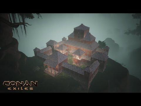 HOW TO BUILD A KHITAN BASE [SPEED BUILD] - CONAN EXILES  