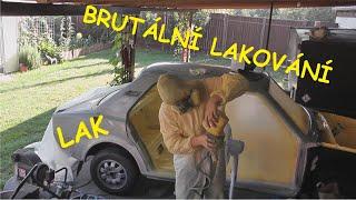 """Škoda 125 vlog 27, """"PROFI"""" lakování(:Kutilovna:)"""