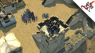 Stronghold Crusader 2 Multiplayer - CO-OP 2vs2  Never Give Up | Deathmatch [1080p/HD]