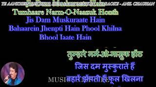 Ye Aankhein Dekhkar Hum Saari-Karaoke With Scrolling Lyrics Eng. & हिंदी