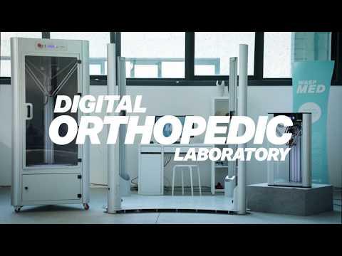 """0 - WASP eröffnet digitales, orthopädisches 3D-Drucklabor """"WASPMed"""""""