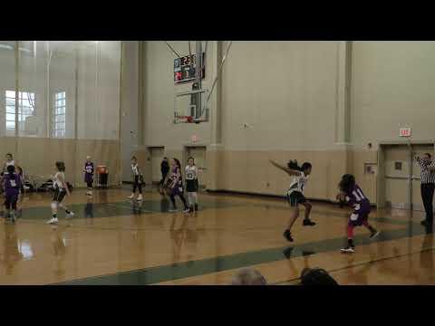 Salk v East Brunswick Middle School Basketball Girls 2019