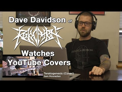 REVOCATION's Dave Davidson Watches Fan YouTube Covers | MetalSucks
