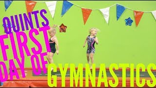 Video Quints First Day of Gymnastics download MP3, 3GP, MP4, WEBM, AVI, FLV September 2018