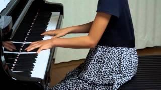 2013年8月3日 録画、 使用楽譜; 全音ピアノピース.