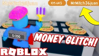*NEW* MONEY GLITCH IN ROBLOX COOKING SIMULATOR!!