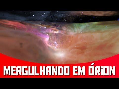Bora dar um Passeio por Dentro da Nebulosa de Órion? | AstroPocket News