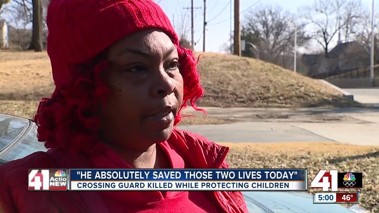 Crossing guard killed in KCK saved 2 lives, principal says