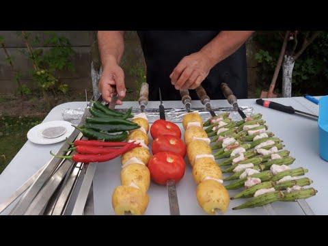 Кебаб из баранины на мангале. Рецепт от Жоржа.  Mutton Kebab. Recipe From George