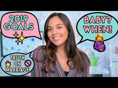 HONEST Q&A (pregnancy, goals for 2019, am I religious?) #AskNatalie ✨🤰🏽💍