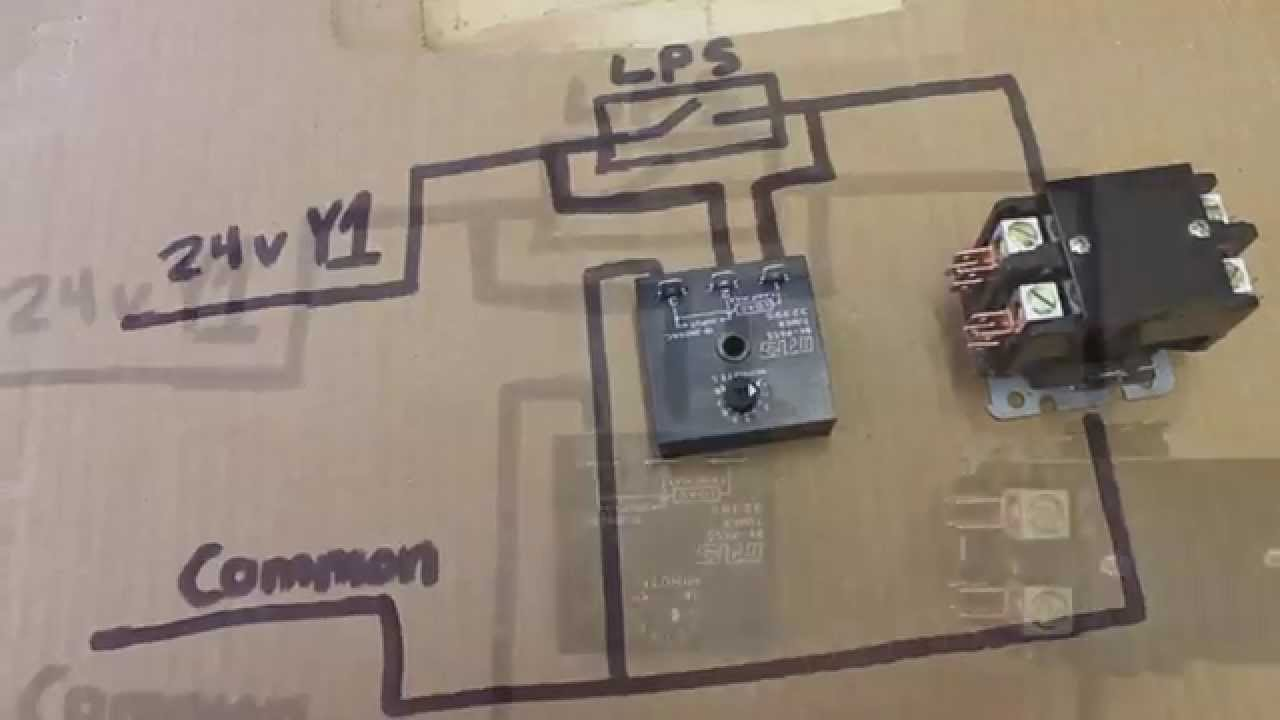 HVAC Relay Training Bypass Timer  YouTube