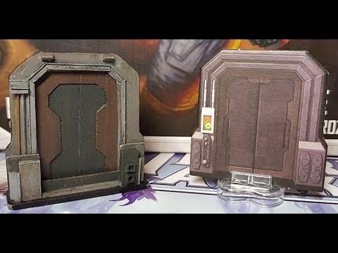 Creating Star Wars Imperial Assault 3d Doors Part1 & Creating Star Wars Imperial Assault 3d Doors Part1 - YouTube