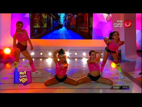 Kids en Canal 9 - Reggaeton by Emiliano Ferrari Villalobo / Especial Dia del Niño (HD)