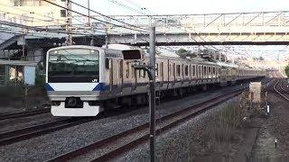 【JR東】常磐線 普通品川行 北小金 Japan Chiba JR Joban Line Trains