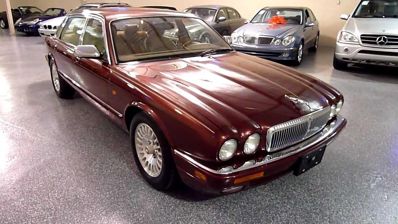 1996 jaguar xj6 4dr sedan 4 0l vanden plas 2100 sold. Black Bedroom Furniture Sets. Home Design Ideas