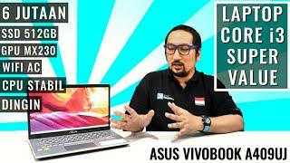 Laptop Core i3 Murah Ini Ternyata Sangar Banget: ASUS Vivobook A409UJ
