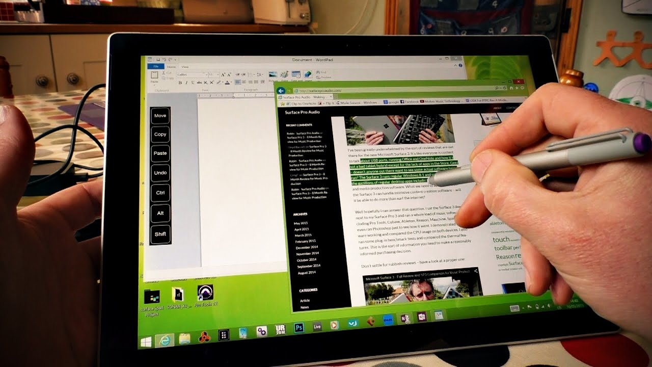 The Surface Digital Pen is Awesome - here's why (featuring Toolbar Creator)