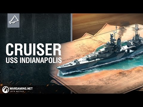 World of Warships -  Premium Shop: USS Indianapolis